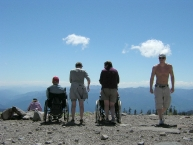 View from Mt Shasta