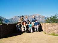 Take in the view from Signal Hill to Table Mountain